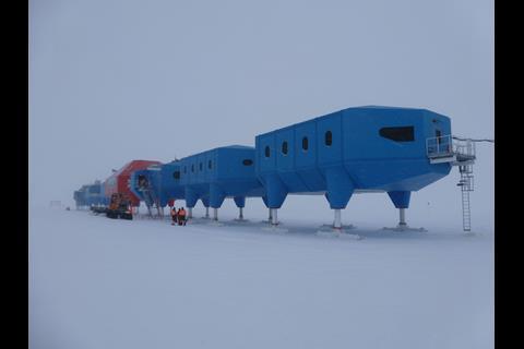 Hugh Broughton's Halley VI in Antarctica